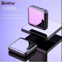 Powerbank / Power Bank SANTAC Dual USB Portable mini 10000mah - SAPB03