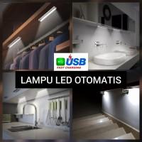 Lampu LED Sensor Otomatis Sensor Gerak Cahaya USB Fast Charging