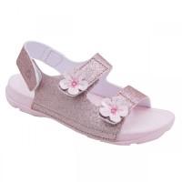 Sepatu sendal Anak Perempuan, Bali CH, Rose/Glitter Toezone - 25