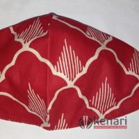 Masker Batik Mega Mendung & Batik Kipas