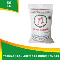 Tepung Sagu Aren cap KUNCI KEMBAR 50 kg
