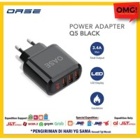 OPPO OASE CHARGER ADAPTOR / POWER ADAPTER Q5 ORIGINAL GARANSI RESMI