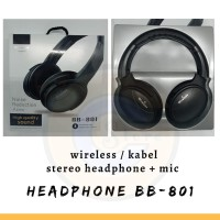 HEADPHONE ORI 100% JBL BB-801