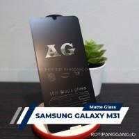 SAMSUNG GALAXY M31 Anti Glare Full Cover Premium Matte Tempered Glass