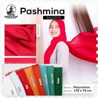 Hijab Kerudung PASHMINA Saudia Umama Katun Rawis