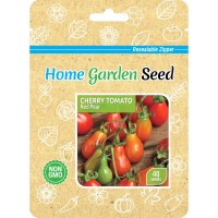 Benih Tomat, Cherry Tomato Red Pear - Home Garden Seed
