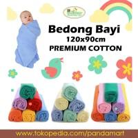 Little Duck Bedong Bayi Kaos Isi 6 Ukuran 120x90cm Katun Selimut Halus