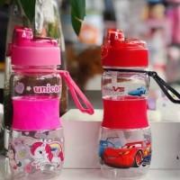 Botol Minum Anak Karakter 400Ml - Botol Minum Steril 3688