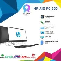 HP AIO PC 200 G3-3ZF82PA i3 8130 4GB 1TB Dos 21.5FHD