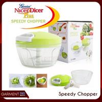 Speedy Chopper LY 606 Hand Blender Manual Gilingan Sayur Buah Daging -