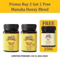 Manuka Honey + Manuka MG 83+ Free Madu