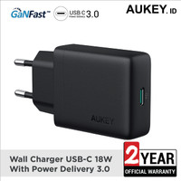 Aukey Charger USB-C 18W with Power Delivery - 500349
