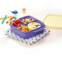 Jual Murah Kotak Makan Warna Ungu dan Ungu Tua - Lolly Tup Tuperware