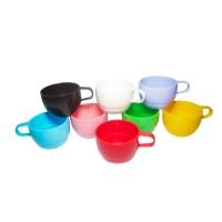 Cangkir Cantik Plastik mug gelas plastik unik PP Food grade Merk HOYA