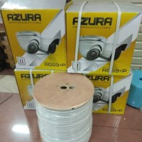 KABEL CCTV RG59+POWER AZURA WARNA PUTIH