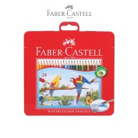 Faber-Castell Watercolor Pencils 24L Tin Case