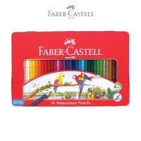 Faber-Castell Watercolor Pencils 36L Tin Case