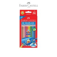 Faber-Castell Colour Grip Watercolour Pencils 12L