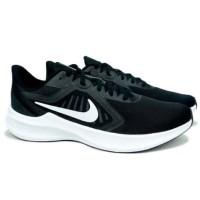 Sepatu Running Nike Downshifter 10 - Black/White