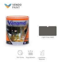 Cat Kayu dan Besi Venamel 0,9 L Light Grey Matt setara Emco,Bee Brand