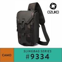 Ozuko Sling Bag #9334 - Army