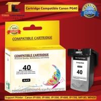 Cartridge Canon PG40 PG 40 PG-40 Black Catridge 40 IP1880 IP1980 mp198