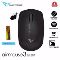 Alcatroz AirMouse 3 Silent And Portable USB 2.4G Wireless Mouse