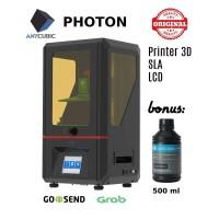 New Anycubic Photon, Printer 3D SLA LCD Bahan UV Resin
