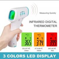 Thermometer Digital Infrared Termometer Anak Ukur Suhu Tubuh Bayi - Hijau.