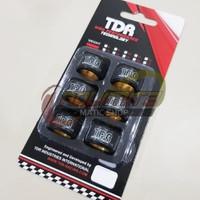 Roller Racing TDR Black Teflon 11gr Yamaha NMAX Aerox 155 Lexi Xeon