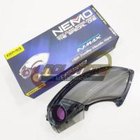 Cover Tutup Air Filter Udara Veloscope NEMO Smoke Transparan NMAX