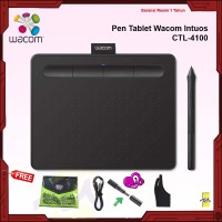 Wacom Intuos S CTL4100 Digital Drawing Pen Tablet CTL-4100/K0