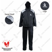 Baju Sauna/Sauna Suit Olahraga / Rainsol Running Bukan Kettler / Siken - S