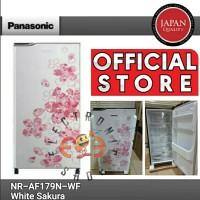 Panasonic NR AF179 N WF Kulkas 1 Pintu - White Sakura