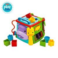 Fisher Price Infant Play & Learn Activity Cube - Mainan Edukasi Anak