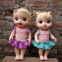 Baju Perlengkapan Aksesoris Boneka Baby Alive BB010 - S