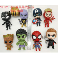Avengers Surprise Egg Set 8 Figure Spiderman Iron Man Thanos
