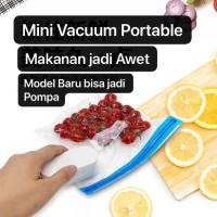 MVS-005 Mini Vacuum Food Sealer Fresh Seal Vacom Portable Jadi POMPA