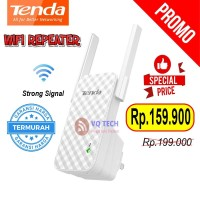 Range Extender Wifi Repeater TENDA A9 Penguat Signal Wifi TPLINK