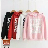 Outer Hungry Hoodie Outer Sweater Anak Remaja