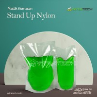 plastik Stand Up Nylon 12x20 cm