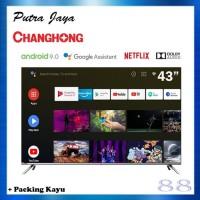 Changhong Android TV 43 Inch L43H7 43H7 - Khusus Luar Daerah