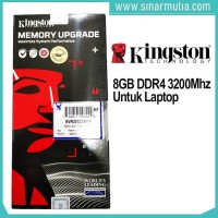 Memory Ram Kingston 8GB DDR4 3200 MHz SODIMM KVR32S22S8/8