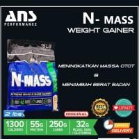 ANS N-MASS Nmass N Mass Gainer Ecer Eceran 2 lbs lb 2lbs 2lb Ketengan