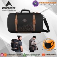 Eiger Borneo M Duffle Backpack 40L - Taas Ransel Pria - Original
