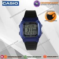 Casio W-800HM-1A 2A jam Tangan Pria Original - Garansi Resmi