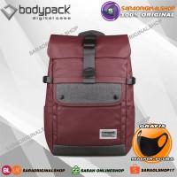 Bodypack Detroit L - Tas Ransel Laptop Pria - Original