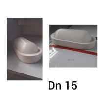 LAMPU DINDING OUTDOOR DN15 FANTAS W1704/10W-WH/3000K