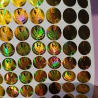 stiker hologram super Quality burung garuda