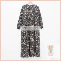 Lunaci Black Adenium Night Gown